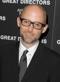 Moby at the New York premiere of