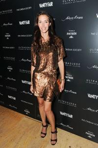 Olivia Chantecaille at the after party of the New York premiere of