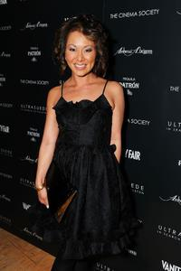 Alina Cho at the after party of the New York premiere of