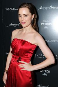 Melissa George at the after party of the New York premiere of