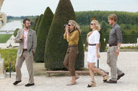 Michael Sheen as Paul, Nina Arianda as Carol, Rachel McAdams as Inez and Owen Wilson as Gil in