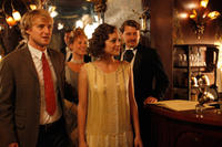 Owen Wilson as Gil and Marion Cotillard as Adriana in