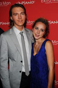 Paul Dano and Zoe Kazan at the New York premiere of