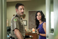 David Arquette and Courtney Cox in