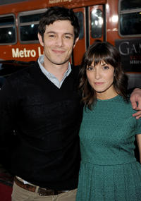 Adam Brody and Guest at the California premiere of