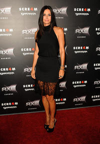 Courteney Cox at the California premiere of