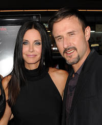Courteney Cox and David Arquette at the California premiere of