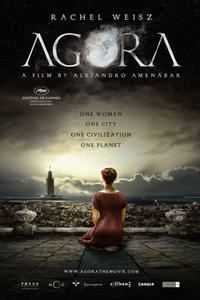 Poster art for 'Agora.'
