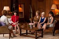 Miranda Richardson as Barbara Castle, Sally Hawkins as Rita, Geraldine James as Connie, Jaime Winstone as Sandra and Andrea Riseborough as Brenda in