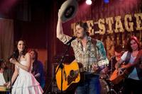 """Leighton Meester as Chiles and Garrett Hedlund as Beau in """"Country Strong."""""""