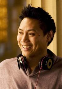 Director Jon M. Chu on the set of