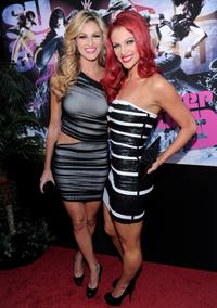 Erin Andrews and Kendra Andrews at the California premiere of