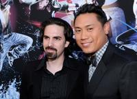 Bear McCreary and director Jon M. Chu at the California premiere of