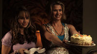 Debby Ryan and Kristy Swanson in