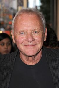 Anthony Hopkins at the Canada premiere of