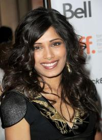 Freida Pinto at the Canada premiere of