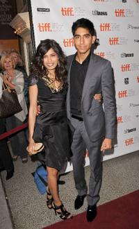 Freida Pinto and Dev Patel at the Canada premiere of