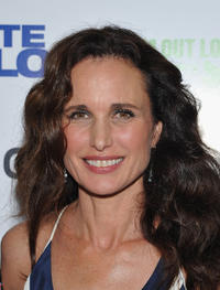 Andie MacDowell at the New York premiere of