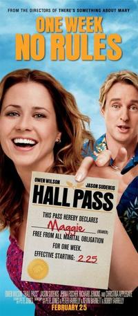 Poster art featuring Owne Wilson and Jenna Fischer for