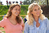 Jenna Fischer as Maggie and Christina Applegate as Grace in
