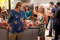 Owen Wilson as Rick and Nicky Whelan as Leigh in