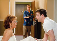 Kristin Carey as Aunt Meg, Owen Wilson as Rick and Jason Sudeikis as Fred in