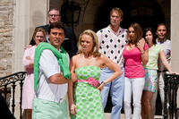 Rob Moran as Ed Long, Lauren Bowles as Britney, Andrew Wilson as Larry and Alyssa Milano as Mandy in