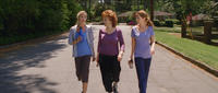 Christina Applegate as Grace, Joy Behar as Dr. Lucy and Jenna Fischer as Maggie in