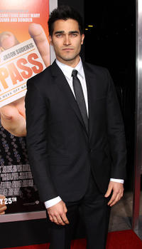 Tyler Hoechlin at the California premiere of