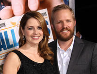 Jenna Fischer and Guest at the California premiere of