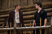 Max Irons as Henry and Shiloh Fernandez as Peter in