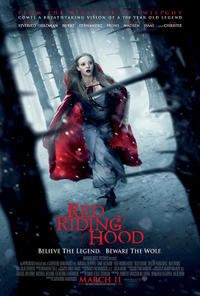 """Poster art for """"Red Riding Hood."""""""