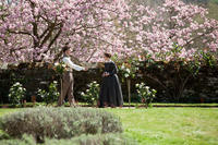 Michael Fassbender as Mr. Rochester and Mia Wasikowska  as Jane Eyre in