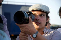 Director Joe Wright on the set of