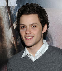 James Newman at the New York screening of