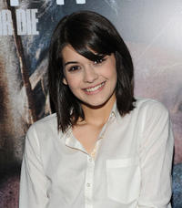 Sofia Black-D'Elia at the New York screening of