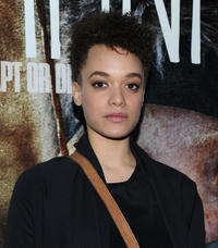 Britne Oldford at the New York screening of