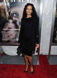 Anousha Shankar at the New York screening of