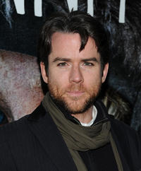 Christian Campbell at the New York screening of