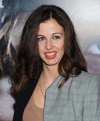 Chiara Clemente at the New York screening of