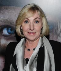 Producer Leslie Holleran at the New York screening of