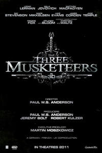 """Poster art for """"The Three Musketeers"""""""