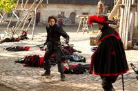 """Luke Evans in """"The Three Musketeers."""""""