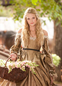 """Gabriella Wilde in """"The Three Musketeers."""""""
