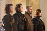 Logan Lerman, Luke Evans, Ray Stevenson and Matthew Macfadyen in