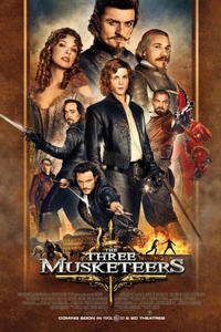 """Poster art for """"The Three Musketeers."""""""