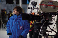 Director Matthijs van Heijningen Jr. on the set of