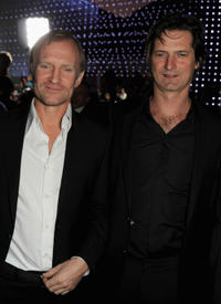 Ulrich Thomsen and director Matthijs van Heijningen Jr. at the California premiere of