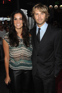 Daniela Ruah and Eric Christian Olsen at the California premiere of
