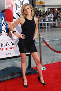 Eliza Coupe at the California premiere of